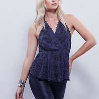 Free People Womens Make You Mine Embellished Tank
