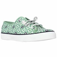 Sperry Top-Sider Seacoast Fashion Sneakers - Geo Print Mint