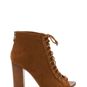 Sunday Funday Faux Suede Booties
