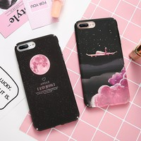 iPhone Coque Case For 6 6S 7 5S 6 S Plus Luxury Hard PC 360 Degree Protection Ultra Thin  Iphone X 10 8 - Free Shipping
