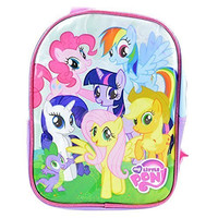 "My Little Pony Mini 10"" Backpack Set - Includes Water Bottle and Stickers"