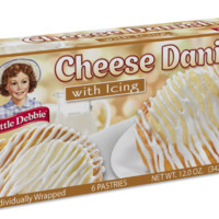 Little Debbie Cheese Danishes 12 Oz (6 Boxes)