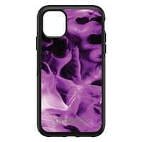 DistinctInk™ OtterBox Symmetry Series Case for Apple iPhone / Samsung Galaxy / Google Pixel - Violet Flame Fire