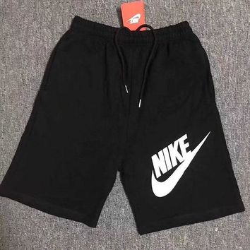 NIKE men's pants summer style knitting large size running casual pants five-minute pants