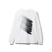 Descent Long Sleeve in White