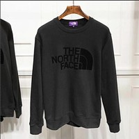 THE NORTH FACE Woman Men Black Pullover Sweatshirt Sweater