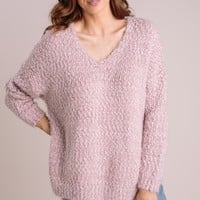 Liv Eyelash Knit Sweater