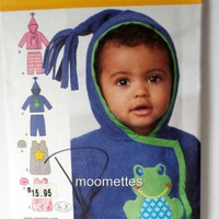 Baby Kids Pants Jacket Hat Sewing Pattern Simplicity 1546 S M L New Uncut FF