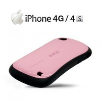 iFace First Class Anti-Shock Urethane Bumper Case for iPhone 4 / 4S Pink