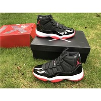Air Jordan 11 Retro Bred Sport Basketball Shoe 5.5-13