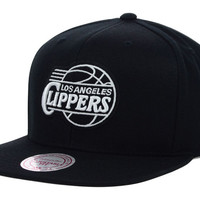 Los Angeles Clippers NBA Team BW Snapback Hat