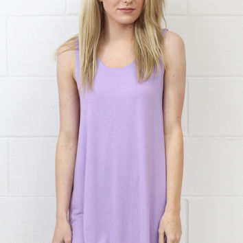 PIKO: Bamboo Basic Swing Tank {Lt. Purple}