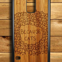 Because Cats Samsung Galaxy S5 Case