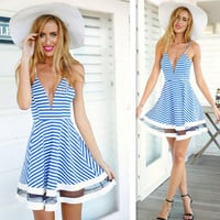 New Fashion Summer Sexy Women Dress Casual Dress for Party and Date = 4457930372