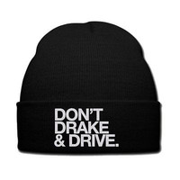 don't drake and drive snapback hat beanie knit hat drake dont drake and drive xo
