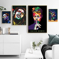 Diamond painting Asap Rocky  Bob Marley David Bowie Young Thug Music Singer diamond embroidery icons Home decoration