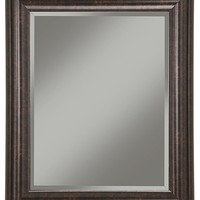 Oil Rubbed Bronze Wall Mirror - Traditional - Wall Mirrors - by Sandberg Furniture