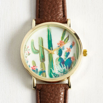 Cacti and Time Again Watch by ModCloth