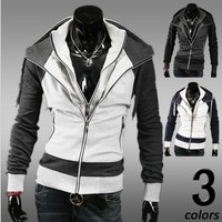Korean Hats Hoodies Men Jacket [6528656707]