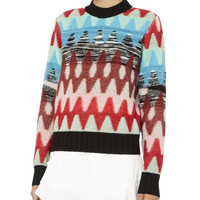 Multicolor Mixed Sweater
