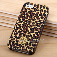 Fashion Cute Leopard 3in1 Case Cover for Apple iPhone 5 5G +  LCD Film