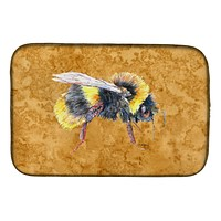 Bee on Gold Dish Drying Mat 8850DDM