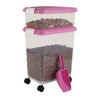 IRIS Airtight Pet Food Storage Combo with Scoop | Storage & Scoops | PetSmart
