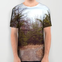 Lovers Leap All Over Print Shirt by Emilytphoto