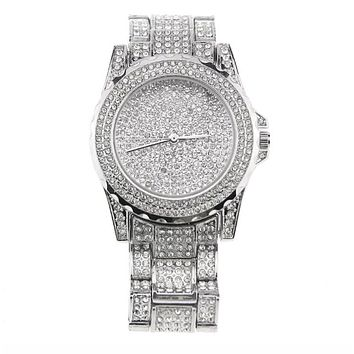 Silver Ice Watch