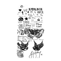 1D Harry Styles Tattoo For iPhone 5 / 5S / 5C Case