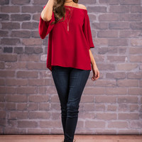 Case Of Class Top, Red