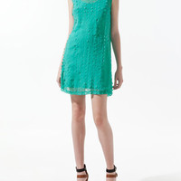 DRESS WITH CUT OUT DESIGN