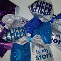 Cheer is my Sport Cheer/Sports Bow