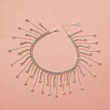 The Diamond Ball Choker