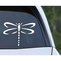 Dragonfly Silhouette (03) Die Cut Vinyl Decal Sticker