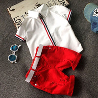 Rabbit Family High quality  clothing sets for Baby boys