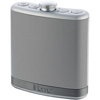 Ihome Rechargeable Flask-shaped Bluetooth Stereo Speaker With Custom Sound Case (silver)