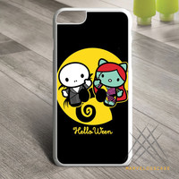 Hello kitty nightmare before Christmas Custom case for iPhone, iPod and iPad