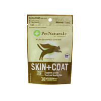 Pet Naturals of Vermont Skin and Coat for Cats - 30 Chewables