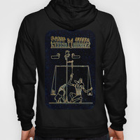 Anubis Detail - Weighing of the Heart Hoody by Khana's Web | Society6