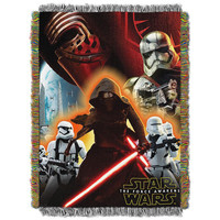 Star Wars EPS 7 - Ground Invasion  Woven Tapestry Throw Blanket (48x60)