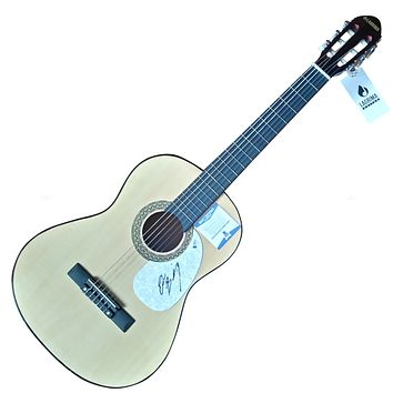 Drew Baldridge Autographed Country Music Acoustic Guitar, Proof Photo, Beckett S38167