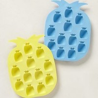 Pineapple Ice Trays by Anthropologie Blue One