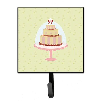 Decorated Cake on Green Leash or Key Holder BB7305SH4