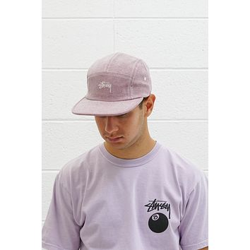 Stock Washed Canvas Camp Cap in Rose