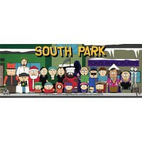 South Park - Cast Bumper Sticker