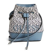 Donohue Small Bucket Bag by Guess