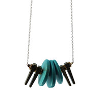 Turquoise Sky Statement Necklace