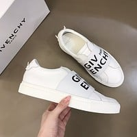Givenchy  Men Fashion Boots fashionable Casual leather Breathable Sneakers Running Shoes 0329em
