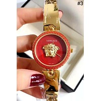 Versace tide brand women's simple and versatile fashion quartz watch #3